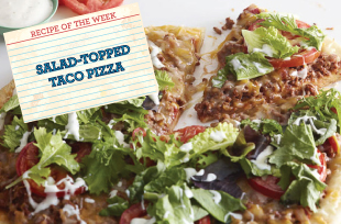 salad-topped-taco-pizza