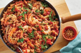 One-Skillet-Spicy-Shrimp-Fusilli